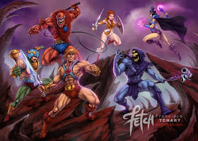 MASTERS of the UNIVERSE by FranciscoETCHART