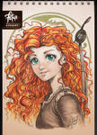 COPIC sketch 79 MERIDA by FranciscoETCHART