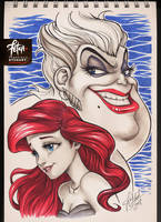 COPIC sketch 81 ARIEL by FranciscoETCHART