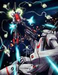 Robotech_ Rick VS Khyron by FranciscoETCHART