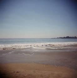 Holga Beach by MissWicked