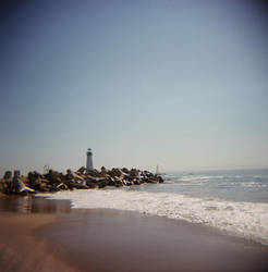 holga beach again by MissWicked