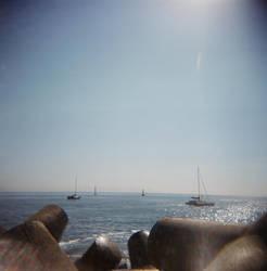 holga beach 7 by MissWicked