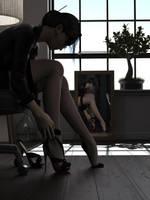 Mirror Study04 by CgGirls