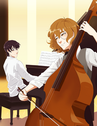 The Duet by yainedraws