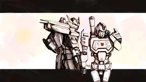Deadlock and Perceptor: Follow me! [commission] by Akyuatron