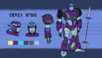 Crazy #105 [REF Commission] [Rus] by Akyuatron