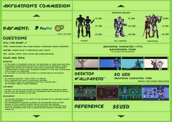 Akyuatron's commission by Akyuatron