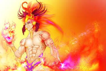 Phoenix Flames by AlexandriteAvarice