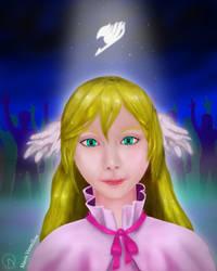 Mavis Vermilion - The Fairy Tactician by wolfzol