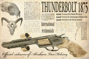 Steampunk:  Thunderbolt 1875 by taiwanboi