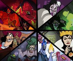 Disney Villains by TheSpyWhoLuvedMe