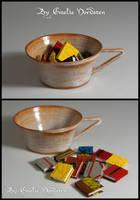 Minibooks from Scraps by Folksaga