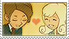 Layton: Henry x Angela by Vulpixi-Stamps