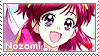 PreCure: Yes 5: Yumehara Nozomi by Vulpixi-Stamps