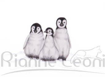 The Three Penguins by Rianne2k8