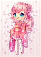Commission: Sakura Lindy by Hyanna-Natsu