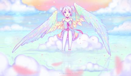 When heaven meets earth by Hyanna-Natsu