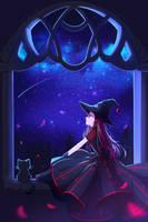 Beautiful magic night by Hyanna-Natsu