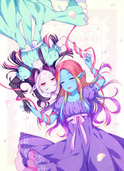 [+Video] Commission - Colorful feelings by Hyanna-Natsu