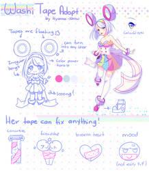 [Closed]  WashiTape Adopt by Hyanna-Natsu