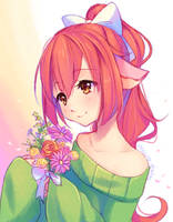 AT - Gentle girl by Hyanna-Natsu
