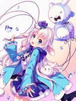 [+Video] Commission - Bubbly Bunny by Hyanna-Natsu