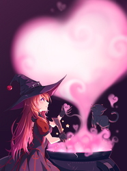 [+Video] Commission - Magical love by Hyanna-Natsu