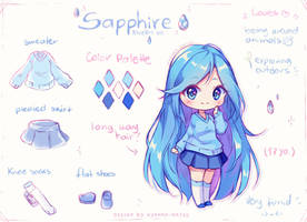 [+Video] Commission - About Sapphire by Hyanna-Natsu