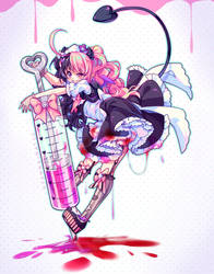 [+Video] Commission - A Dose of Crazy by Hyanna-Natsu