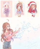 Gifts - Happy Holidays! by Hyanna-Natsu