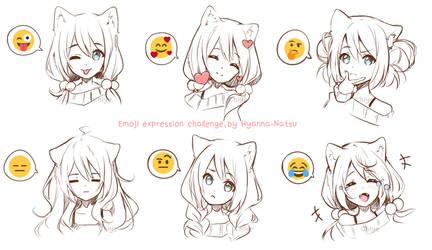 [+Video] Original - Emoji Expression Challenge by Hyanna-Natsu