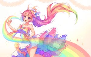 [+Video] Commission - Rainbow Spirit by Hyanna-Natsu