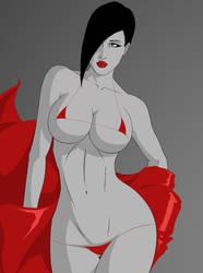 Red Ribbon by MajesticSyntax