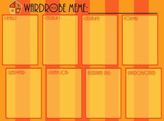 [PRIS]Wardrobe Meme by Kalu-Chan11