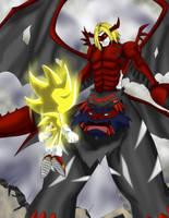 Super Sonic vs Venom Myotismon by tbone111
