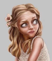 Amanda Seyfried by bilautaa