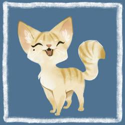 Doodle Cat by bilautaa