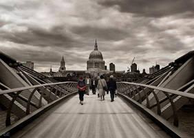 millennium bridge by L-N-E