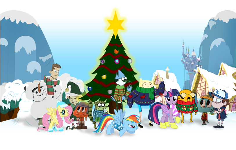Holiday Gathering *Merry Christmas 2014!* by Broxome on DeviantArt
