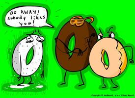 Doughnut Prejudice by AniMerrill