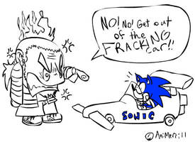 Sonic and Sega Racing by AniMerrill
