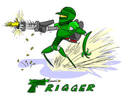 Trigger Concept by AniMerrill