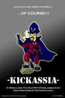 Kickassia Promo Poster by AniMerrill