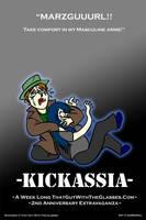 Kickassia Promo Poster 3 by AniMerrill