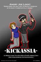 Kickassia Promo Poster 5 by AniMerrill