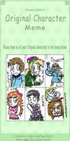 Comic Character Meme by AniMerrill