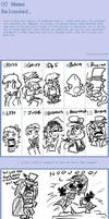 Comic Character Meme 2 by AniMerrill
