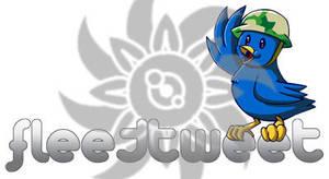 FleetTweet logo by AniMerrill
