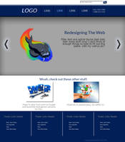 Walrus Website Layout by AniMerrill